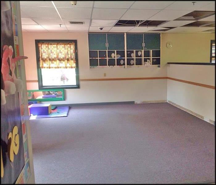 Fire Sprinkler Head Burst in Local Daycare II After