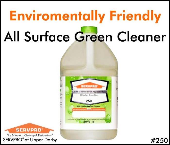 SERVPRO's Professional Cleaning Products: All Surface GREEN Cleaner