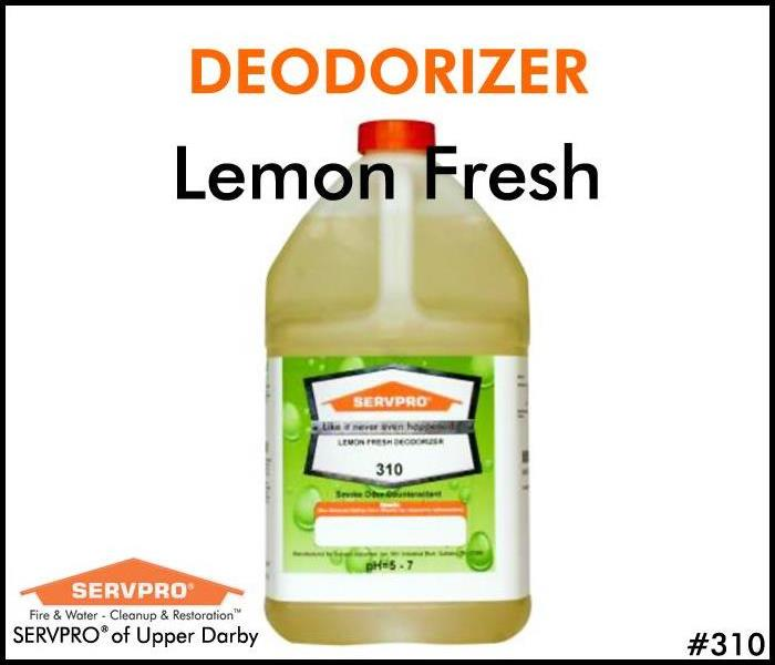 SERVPRO's Professional Cleaning Products: Lemon Fresh Deodorizer