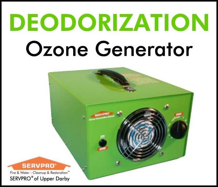 SERVPRO's Advanced Technology: Ozone Generator