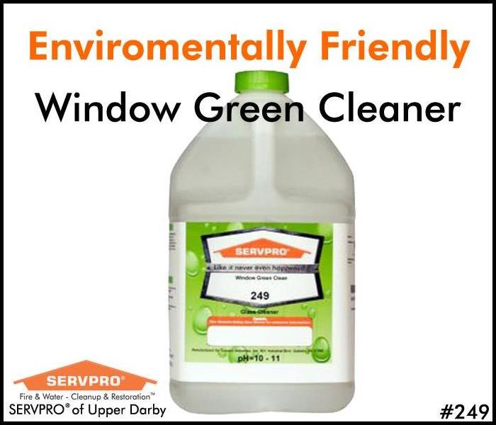 SERVPRO's Professional Cleaning Products: Window GREEN Cleaner